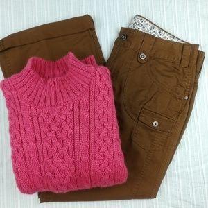 100% Wool Callan Country Vintage Fisherman Sweater